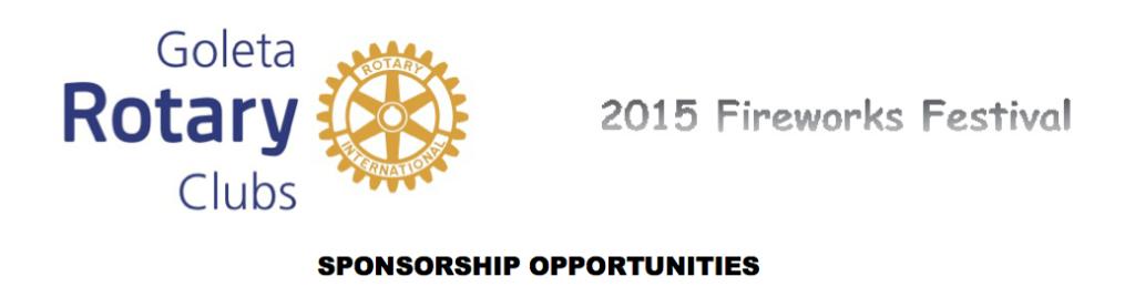 Rotary Festival Sponsorships rev 04-02-2015 revC